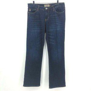 Dear John Denim Womens Straight Leg Jeans Blue